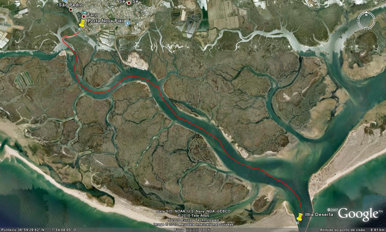 OParque Natural da Ria Formosa